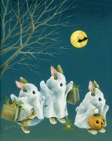 Boo Bunnies Fine Art Print