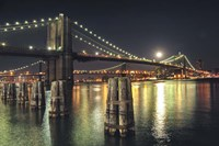 Moon Over Brooklyn Fine Art Print