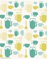Kitchen Pattern Fine Art Print