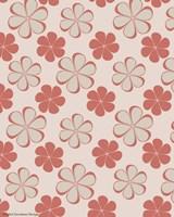 Pink Swirl Pattern Fine Art Print