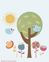 Summer Birds Fine Art Print