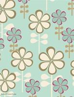Teardrop Floral Fine Art Print