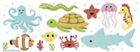 Underwater Designs Fine Art Print