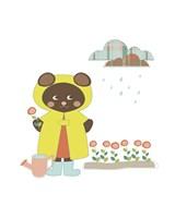 Bear Garden Fine Art Print