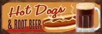 Rootbeer And Hot Dog Fine Art Print