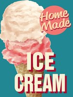 Home Made Ice Cream Fine Art Print