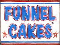 Funnel Cakes Rectangle Fine Art Print