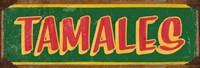 Tamales Dk Green Fine Art Print