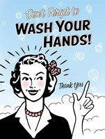 Washhands Fine Art Print