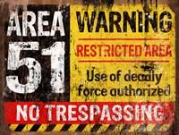 Area 51 Horiz Fine Art Print