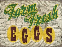 Farm Fres Eggs Fine Art Print