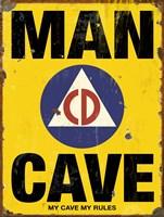 Mancave CD Fine Art Print