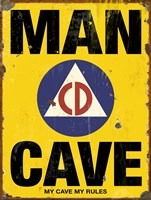 Mancave CD Fine Art Print