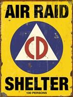 Air Raid CD Fine Art Print