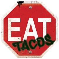Eat Stop Tacos Framed Print