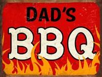 BBQ Dads Fine Art Print