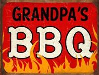 BBQ Grandpas Fine Art Print