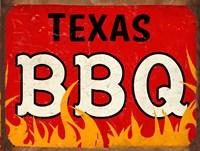 BBQ Texas Framed Print