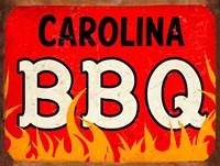 BBQ Carolina Framed Print