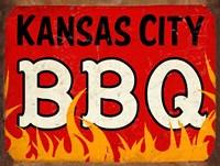 BBQ Kansas City Framed Print