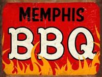 BBQ Memphis Framed Print