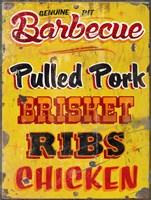 Barbeque Genuine Pit Trashed Fine Art Print