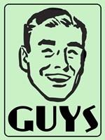 Guys Green Fine Art Print