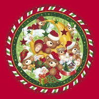 Christmas Bears 1 Fine Art Print