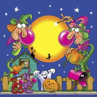 Halloween Gum Fine Art Print