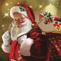 Santa Gift Fine Art Print