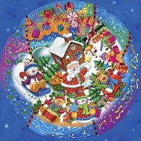 World Christmas Fine Art Print