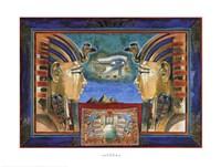 Horus Celestial King Fine Art Print