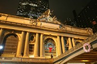 Grand Central Station Christmas Fine Art Print