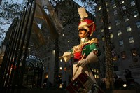 Rockefeller Center Toy Soldier Fine Art Print