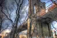 Brooklyn Bridge Early Spring Fine Art Print