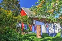 Laundry Line Fine Art Print
