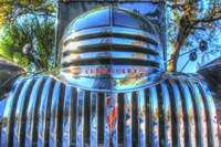 Classic Chevy Truck Grill Fine Art Print