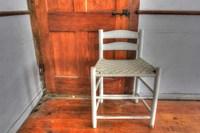 House Corner Chair Fine Art Print