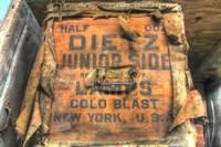 Old Shipping Box. Fine Art Print