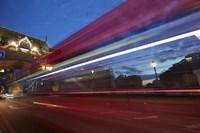 Bus Tower Bridge Fine Art Print