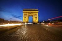 Arc de Triomphe Blue Hour Fine Art Print