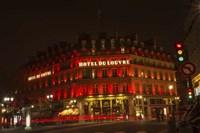 Hotel du Louvre Fine Art Print