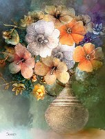 Flower Bunch Fine Art Print