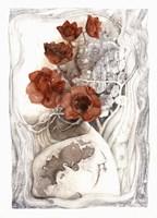 White Vase Fine Art Print