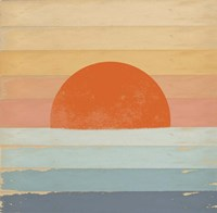 Sunrise Over the Sea Fine Art Print