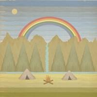 Campfire Fine Art Print