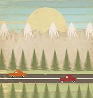 The Highway Fine Art Print