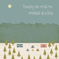 Traveling the World Fine Art Print