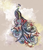 Butterfly Peacock Fine Art Print