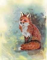 Paisley Fox Fine Art Print
